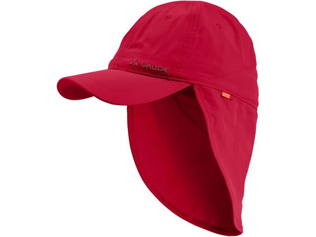VAUDE Sahara III Cap Kinder indian red